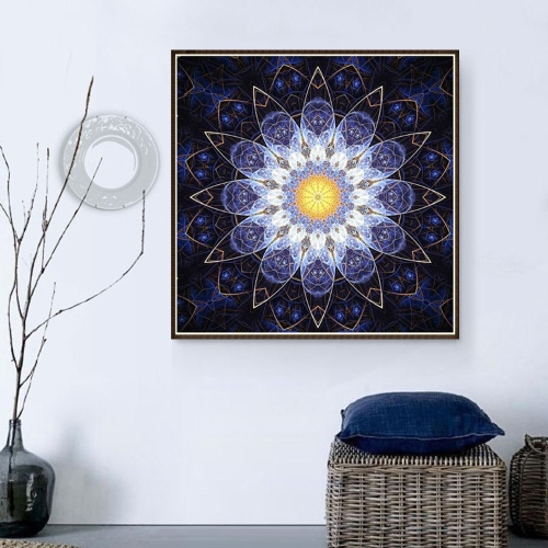 10 * 10 дюймов / 25 * 25 см DIY 5D Комплект для рисования бриллиантов Цветочная смола Rhinestone Mosaic Вышивка Крест Stitch Craft Home Wall Decor