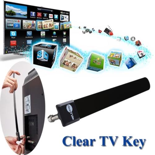 US EU Clear TV Key HDTV БЕСПЛАТНО Цифровая крытая антенная канатная антенна, как видно по телевизору