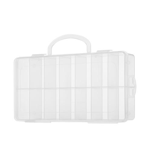 Прозрачный пластик 14 Сетки для инструментов Инструменты Приманки Ювелирная игла и держатель для хранения резьбы для коллекции дисплеев
