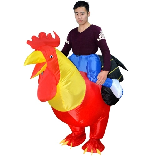 Adults Rooster Inflatable Costume Prop