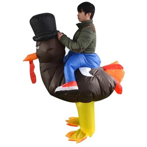 Suporte inflável do traje de Turquia dos adultos