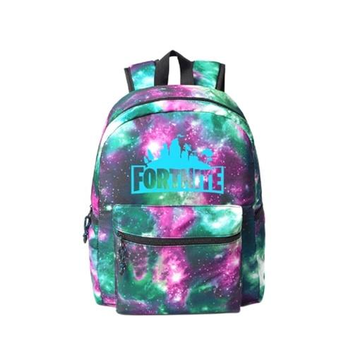 Fortnite Night Game Luminous Backpack School Bag