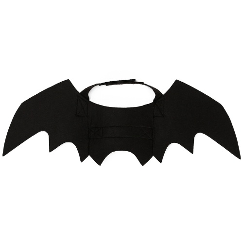 Decoração de Halloween Pet Dog Cat Black Bat Asas Cute Pets