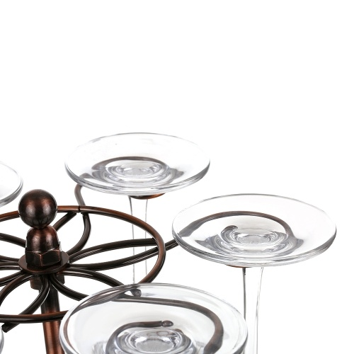TOMTOP / Classic Elegant Cup Holder with 6 Hooks