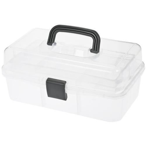Boîte de rangement en plastique pliable à 3 couches