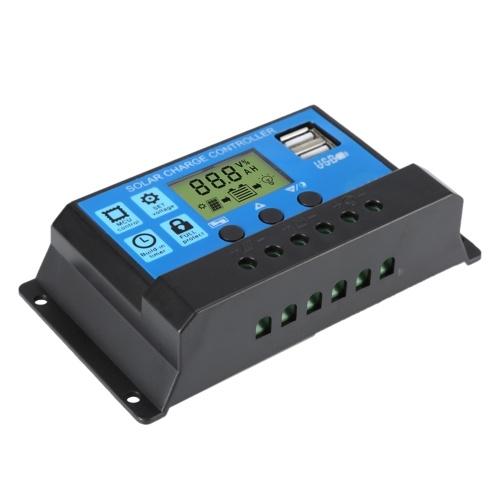 Solar Controller Intelligente Mehrzweck-HD-LCD-Anzeige, zwei USB-Schnittstellen für den privaten oder industriellen Einsatz