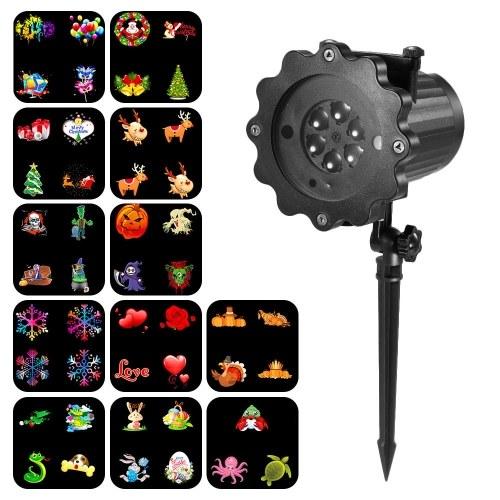 Proyección Luz Animada Led Proyector Luz Control Remoto