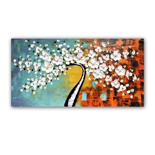 60 * 120cm conjunto de pintura a óleo pintados à mão emoldurado