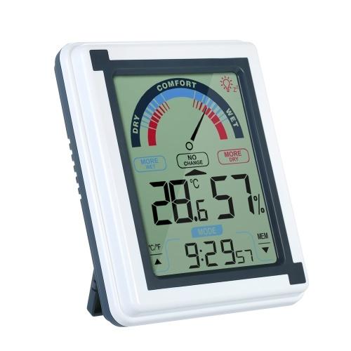 Termometro digitale da interno con funzione sveglia