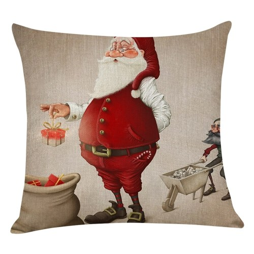 Christmas Series Cushion Pillow Cover