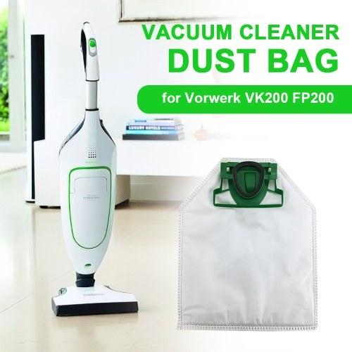 Dust Bag Vacuum Cleaner Replacement Bag Compatible with Vorwerk VK200 FP200 Vacuum Cleaner
