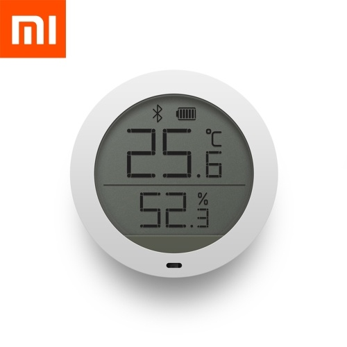 Xiaomi Mijia Интеллектуальный термометр ЖК-экран BT Гигротермограф Датчик температуры и температуры в помещении