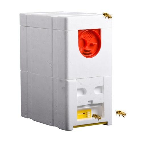 Bee Hives Double-Deck Foam Beekeeping House Beekeeping King Breed Box Pollination Beekeeper Equipment Beekeeping Tools