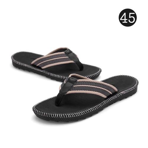 Sandales pour hommes Flip-Flop Slipper Chaussures Anti-Slip EVA Flip Flops Chaussures plates avec semelle confortable pour la maison intérieure extérieure Plage Mer
