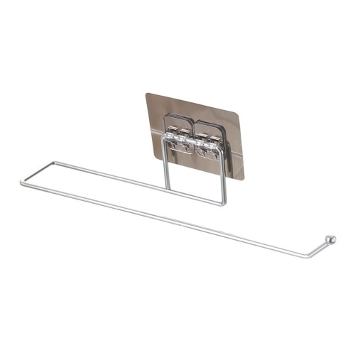 Towel Bar Power Towel Holder Bath Towel Clothes Hanger Nail-free Wall Mount Towel Rack Holder for Bathroom Kitchen Towel Storage Self