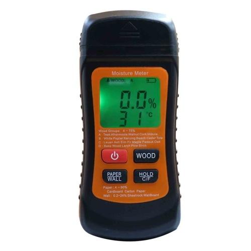 Medidor de humedad de madera Detector de humedad digital