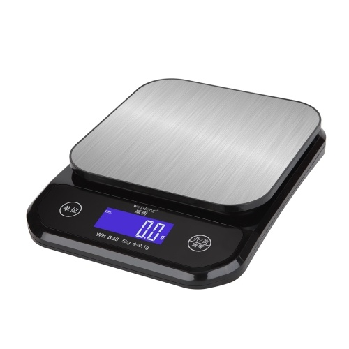 WeiHeng 5kg/0.1g Rechargable LCD Display Screen Digital Kitchen Cooking Baking Food Scales