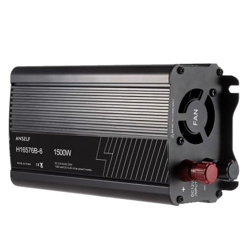 1500W DC12V AC220-240V AC Haushalt Solar Power Inverter Konverter modifizierter Sinuswelle Form
