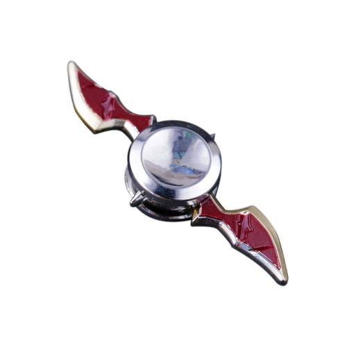 Fidget Hand Finger Spinner Gyro ADD ADHD Anxiety Autism New Hot Metal Zinc Alloy Spin Widget Focus Toy EDC Pocket Desktoy Gift Children Adults Relieve Stress Unique Axe-shaped Arms