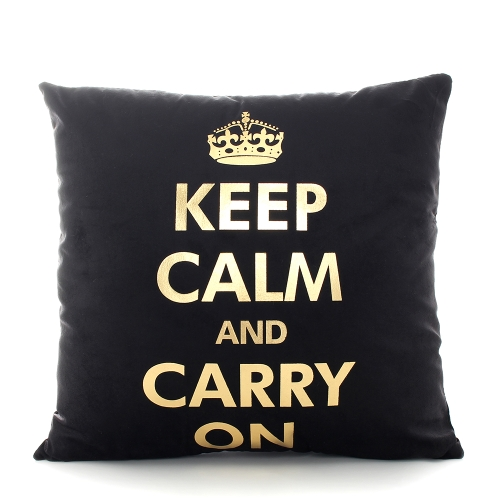 Size 45*45 cm Comfortable Home Pillowcases Black Sofa Bed Pillow Cases Bronzing Cushion Cover Printed Cotton Letter Love Gilding Decorative Pillow Black Gold Lips Pattern Bolster Pillowslip