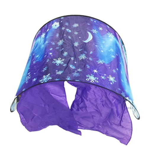 Dream Collapsible Decoration Tent for Kids Baby Room Fantasy Foldable Camping Outside Snow-tent Optional Style