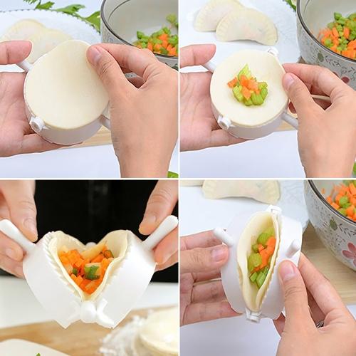 3szt 8cm DIY Kuchenne pierogi Mold Press ciasto Ciasto Pie Maker Gyoza Empanada Mold Tool