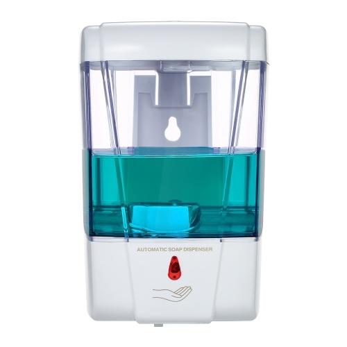 700 мл Автоматический дозатор для мыла Настенный ИК-датчик Жидкая ручная очищающая лосьон Диспенсер для ванной комнаты