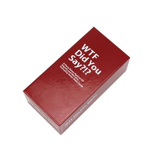 Board Game Card WTF Вы сказали - партийная игра против всех достоинств и морали Полная игра