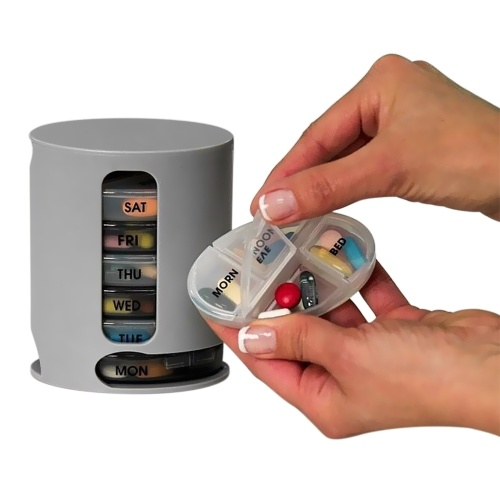 7-дневный пилюль-организатор Pro Compact Organize Mini Pills Storage Box