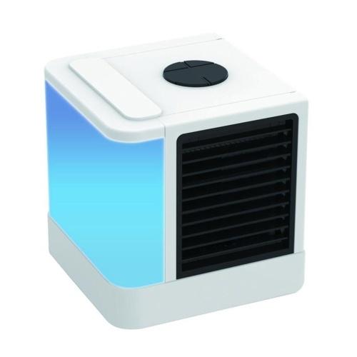 Espaço pessoal Refrigerador de Ar Portátil Ventilador de Ar Condicionado Mini Mesa Ventilador de Refrigeração USB Evaporativo Refrigerador de Ar