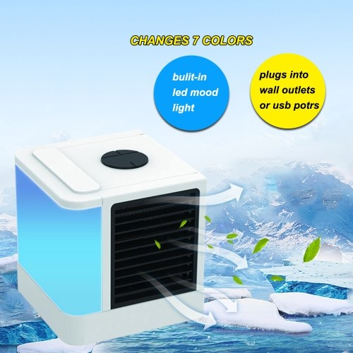 Air Cooler Fan Personal Space Air Cooler Portable USB Air Conditioner Office