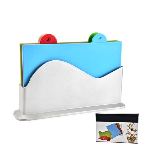 Colour Coded Chopping Board Set of 4 Cutting Boards