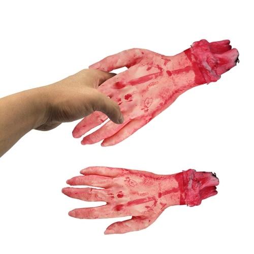 Simulação Tamanho Real Horror Assustador Terrível Destruído Mão Quebrada
