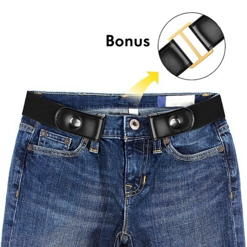 Breathe Comfortably Invisible Belts for Jeans