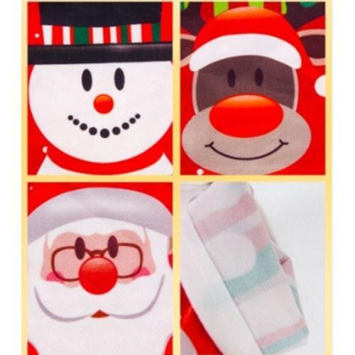 Weihnachtsweinflasche Cover Bag Weihnachtsmann Schneemann Champagner Wrap Kleidung