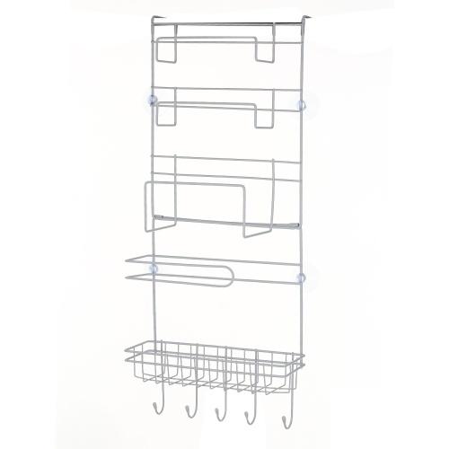 S-8008 Suporte de parede lateral de várias camadas de prateleira lateral de geladeira