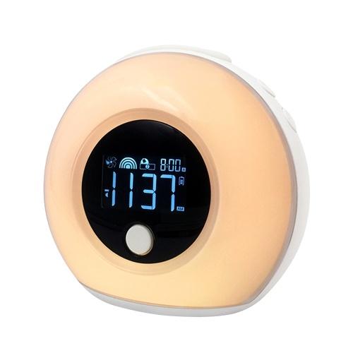 5 Watt Adjustable Alarm Clock Musical Sleep Lamp USB Color BT Speaker