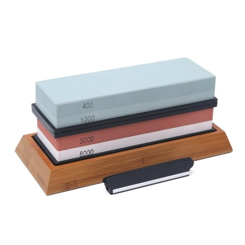 400/1000 3000/8000 Grit Sharpening Stone Double-sided Whetstone Cut Set