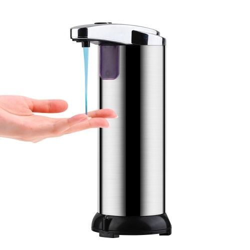 250ML Automatic Infrared Soap Dispenser Touchless Capacity Hands Washing Machine