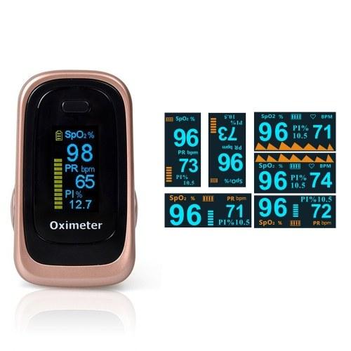 家庭用指パルスオキシメータ軽量ポータブルSpO2モニター心拍数飽和製品睡眠監視製品