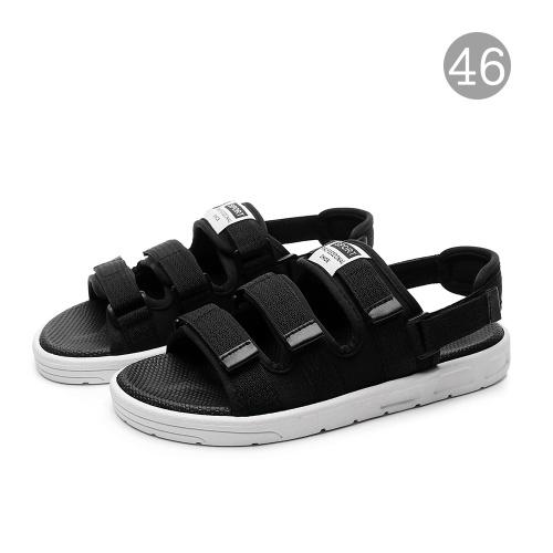 Sandales en caoutchouc antidérapantes Chaussures unisexes à conception à bout ouvert Chaussures plates confortables pour la randonnée Randonnée Mer Plage Camping