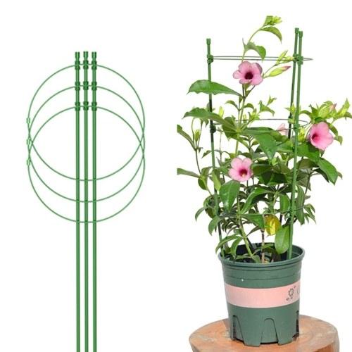 Anello di supporto regolabile per piante Tralicci portatili per piante con attrezzi rampicanti fissi