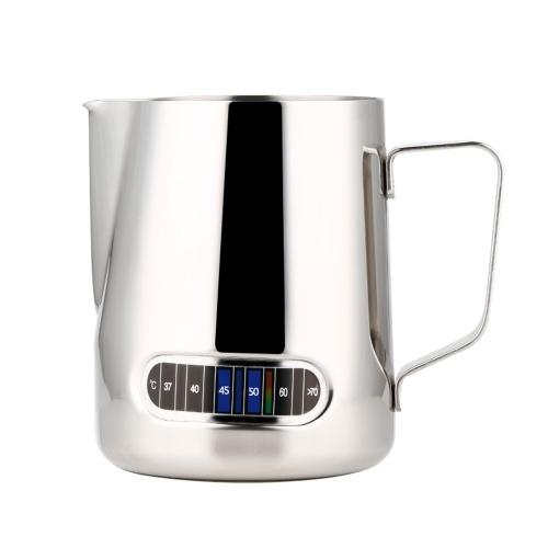 Jarras para vaporizar espresso Jarra para espumar leche espresso de acero inoxidable
