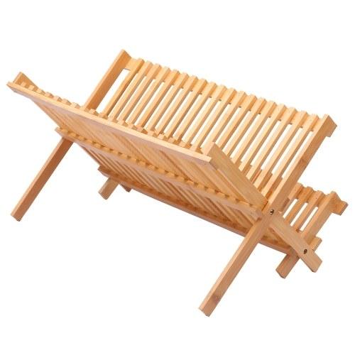 Natürliches Bambusgestell mit 16 Gittern