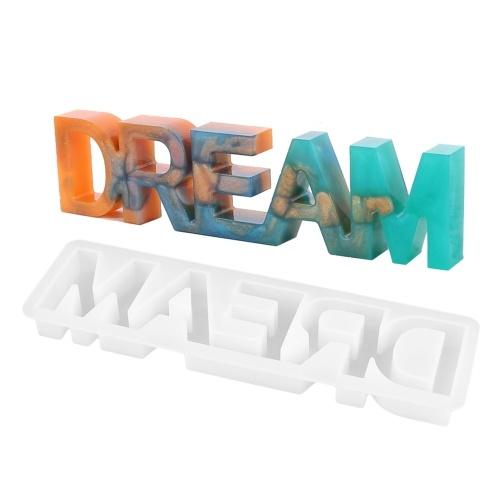 Letter Dream Silicone Mold