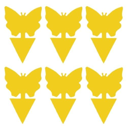 6шт желтая липкая ловушка