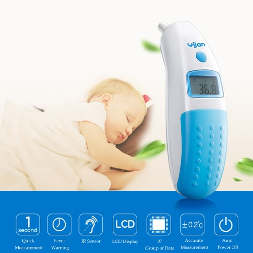 Yijan Digital IR Infrared Thermometer for Adult Baby Quick Safe Measurement LCD Display