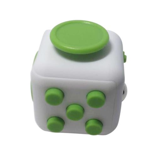 6 стороне Непоседа Куб с кубиком фокус внимания Игрушка Тревога снятия стресса Дети Взрослые Xmas Рождественский подарок