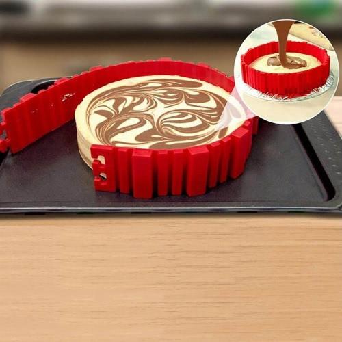 4pcs Snake Food Grade Silicone Cake Mold Magic Bake Mould Tools