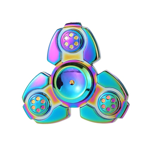 New Style Tri Rainbow Spinner Focus Angst Stress Reducer für Kinder Erwachsene Ultra Durable High Speed ​​Töten Zeit